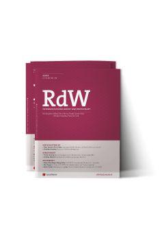 RdW Zeitschrift