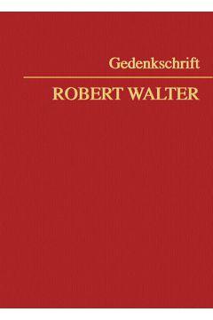 Gedenkschrift Robert Walter