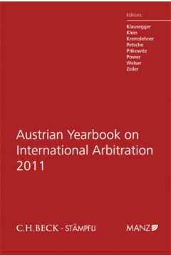 Austrian Yearbook on International Arbitration 2011