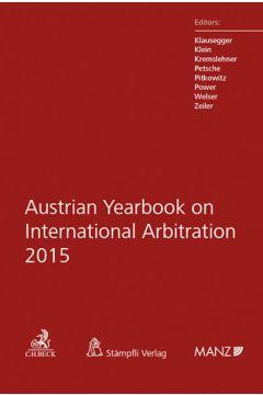 Austrian Yearbook on International Arbitration 2015