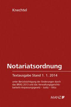 Notariatsordnung 4.Ausgabe