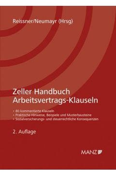 Zeller Handbuch Arbeitsvertrags-Klauseln