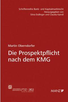 Die Prospektpflicht nach dem KMG