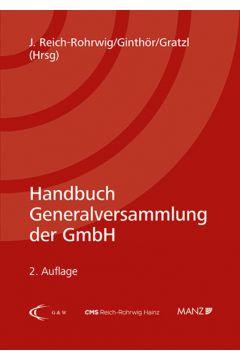Handbuch Generalversammlung der GmbH