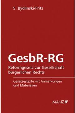 GesbR-RG Reformgesetz zur Gesellschaft bürgerliches Rechts