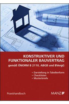 Konstruktiver und funktionaler Bauvertrag