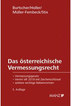 Das österreichische Vermessungsrecht