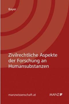 Zivilrechtliche Aspekte der Forschung an Humansubstanzen