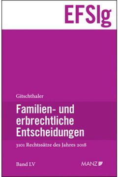 Familien- und erbrechtliche Entscheidungen EF-Slg