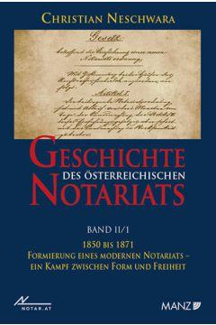 Geschichte des österreichischen Notariats