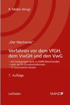 Verfahren vor dem VfGH, dem VwGH und den VwG