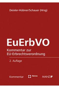 Kommentar zur EU-Erbrechtsverordnung EuErbVO