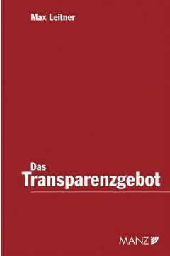 Das Transparenzgebot