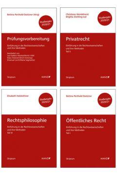 PAKET: Prüfungsvorbereitung + Einführung in die Rechtswissenschaften und ihre Methoden: Tl. I + Tl. II + Tl. III