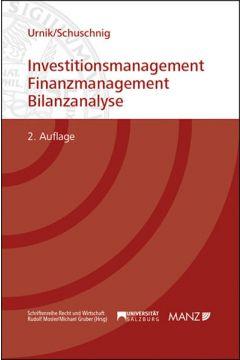 Investitionsmanagement, Finanzmanagement Bilanzanalyse
