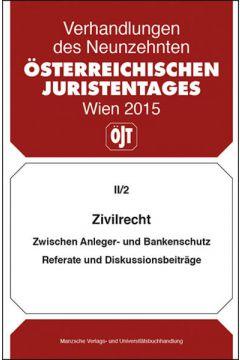 Zivilrecht Zwischen Anleger- und Bankenschutz