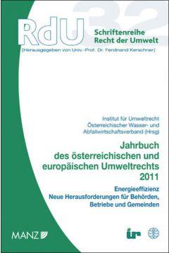 Jahrbuch des österreichischen und europäischen Umweltrechts 2011