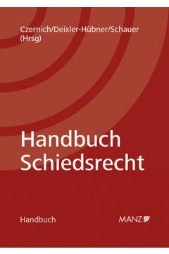 Handbuch Schiedsrecht