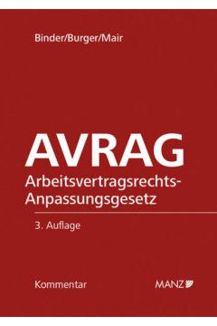 AVRAG - Arbeitsvertragsrechts- Anpassungsgesetz