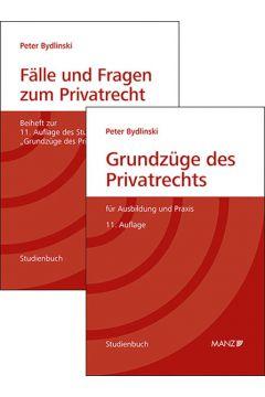 PAKET: Grundzüge des Privatrechts + Fälle und Fragen zum Privatrecht 11. Auflage