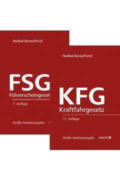 PAKET: Kraftfahrgesetz 11. Aufl + Führerscheingesetz 7. Aufl
