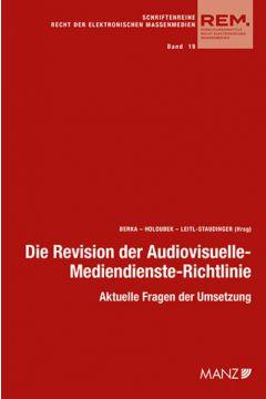 Die Revision der Audiovisuelle- Mediendienste-Richtlinie