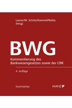 Bankwesengesetz - BWG 4.Auflage