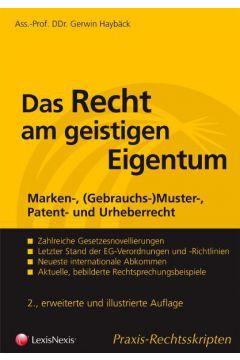 Das Recht am geistigen Eigentum