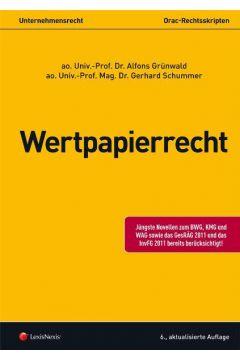 Unternehmensrecht (HR) - Wertpapierrecht