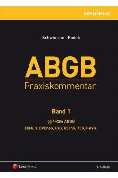 ABGB Praxiskommentar - Band 1, 4. Auflage