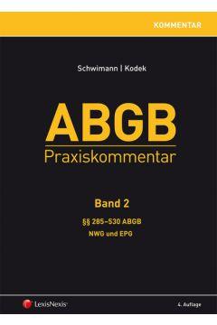 ABGB Praxiskommentar - Band 2