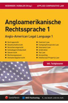 Angloamerikanische Rechtssprache Band 1
