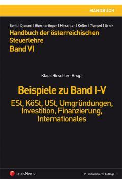 HB Steuerlehre, Band VI - Beispiele zu Band I-V