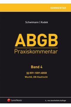 ABGB Praxiskommentar - Band 4