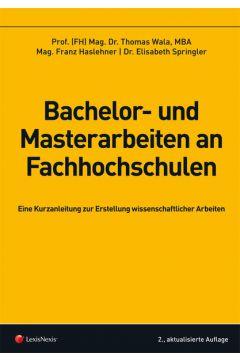 Bachelor- und Masterarbeiten an Fachhochschulen