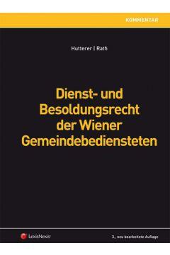 Dienst- und Besoldungsrecht der Wiener Gemeindebediensteten