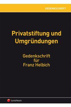 Gedenkschrift Franz Helbich