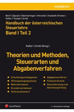 Handbuch der österreichischen Steuerlehre. Band I Teil 2