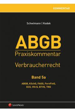 ABGB Praxiskommentar / ABGB Praxiskommentar - Band 5a