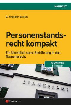 Personenstandsrecht kompakt