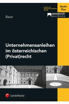 Unternehmensanleihen im österreichischen (Privat)recht