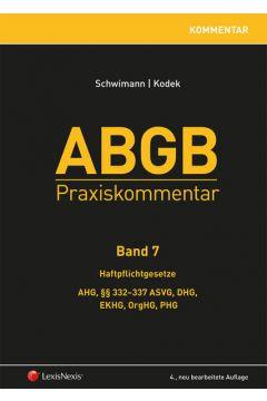 ABGB Praxiskommentar / ABGB Praxiskommentar - Band 7