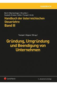 Handbuch der österreichischen Steuerlehre, Band III