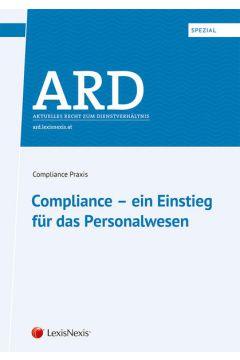 ARD-Spezial: Compliance – ein Einstieg für das Personalwesen