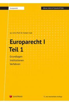 Europarecht I - Teil 1 (Skriptum)