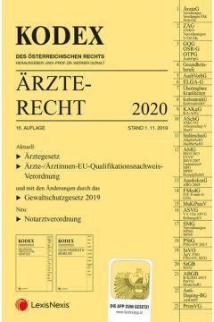 KODEX Ärzterecht 2020
