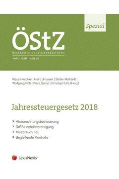 ÖStZ Spezial: Jahressteuergesetz 2018
