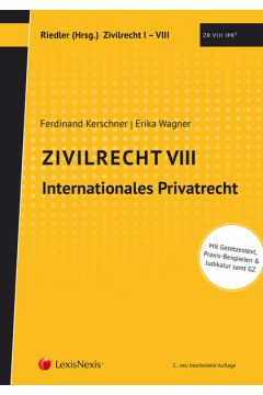 Studienkonzept Zivilrecht / Zivilrecht VIII - Internationales Privatrecht