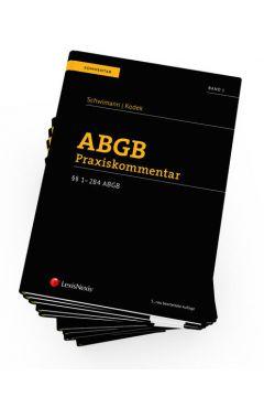PAKET ABGB Praxiskommentar, 5. Auflage