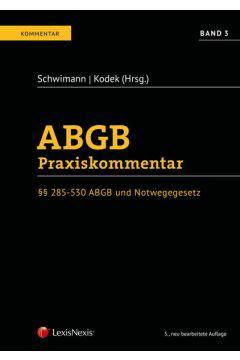 ABGB Praxiskommentar / ABGB Praxiskommentar - Band 3, 5.Auflage